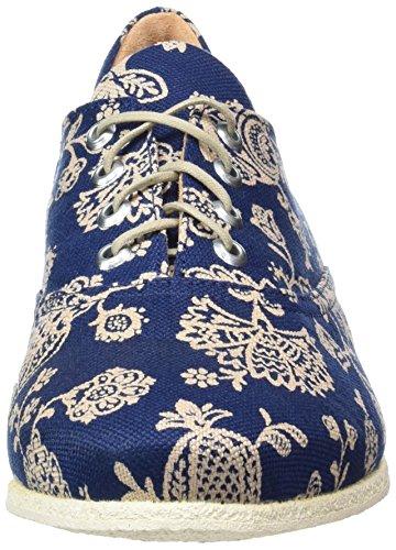 Derby Cordones Shua Think de Zapatos Blau Mujer Kombi Azul 94 para xCCTqIWwt4