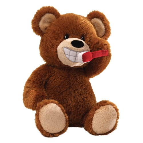 Gund Brush Your Teeth Bear Animated Plush