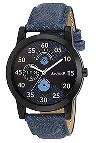 Asgard? Analog Limited Blue Dial Watches for Mens  amp; Boys