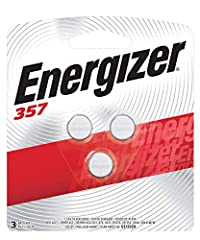 The Energizer brand goes beyond basic battery sizes to bring you the right silver oxide batteries for the job. The Energizer 357/303 silver oxide battery offers dependable performance in household electronics like keyless entry, electronic bo...