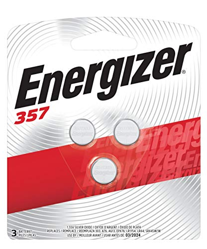 Energizer 357/303 Battery 1.5v Dc Silver Battery