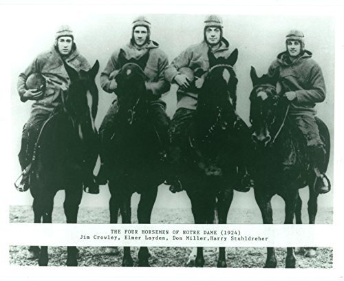 Horsemen Dame Notre Four (The Four Horsemen of Notre Dame 8x10 Photo #1)