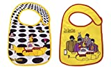 The Beatles, Baby Bibs 2 Pack and Free Temporary Tattoo, by Daphyl's