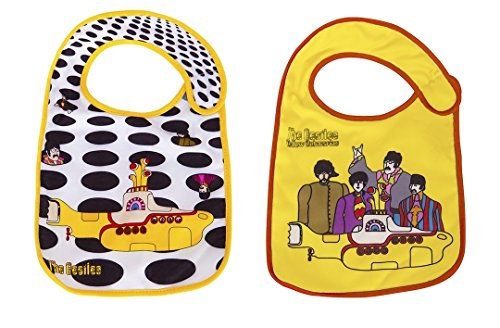 (The Beatles Bibs 2 Pack by Daphyl's)