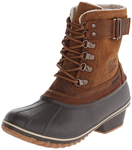 Sorel Women's Winter Fancy Lace II Boot,Elk/Grizzly Bear,8.5 M US