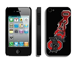 Diy Iphone 4 Case Cheap Iphone 4s Covers Ncaa Ohio State Buckeyes Team Logo