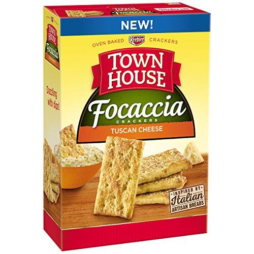 Town House Focaccia Tuscan Cheese, 9 Ounce