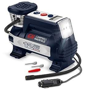 Powerhouse Digital Inflator, Portable Compressor, Auto Shut-Off, 12V 100 PSI & Safety Light (Campbell Hausfeld AF011400)