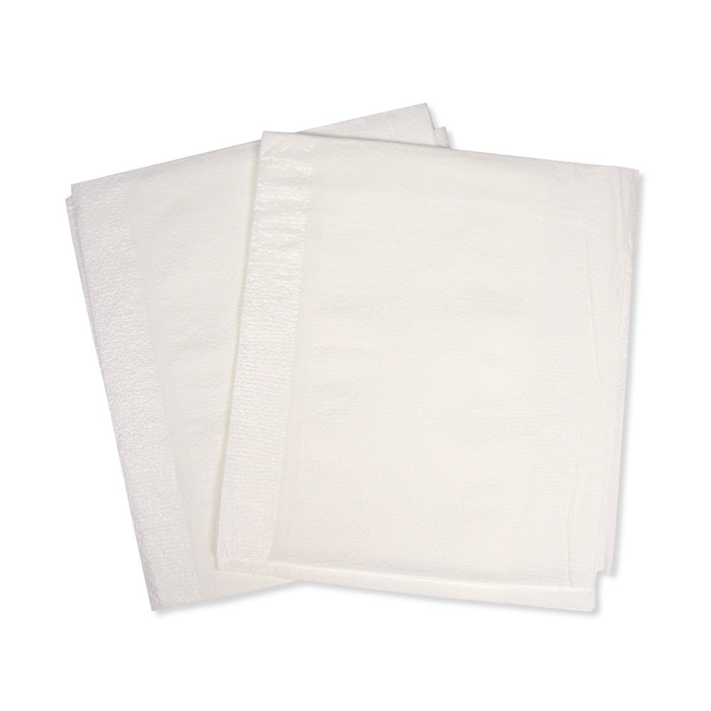 PDC Healthcare SP-8211 Drape Sheet for Patients and Equipment, Poly, 30'' x 48'', White (Pack of 100)