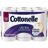 美亚:白菜!速抢!Cottonelle 超舒适卫生纸 12卷装,原价.99,现点击coupon后仅售.74