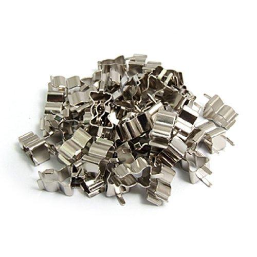 50 PC-Plug-in-Klipp-Klemmplatte für 5 x 20 mm Elektronische Sicherung Rohr, Modell: a11032500ux0164, Tools & Baumarkt