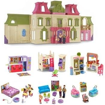 Amazon Com Fisher Price Loving Family Dollhouse Toys Games