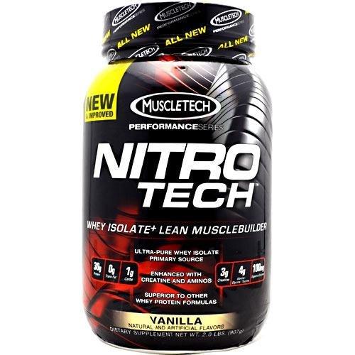 - MuscleTech Performance Series Nitro-Tech - Vanilla - 2 lbs (907g)