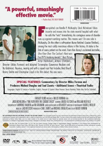 a comparison of the one flew over the cuckoos nest and a beautiful mind Comparison of a beautiful mind and one flew over the cuckoo essaysboth one flew over the cuckoo's nest and a beautiful mind are award winning movies which closely analyze psychological behaviour and behaviour modification.