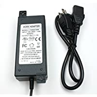WS-PS-56v60w 56 volt 60 watt power supply for PoE injectors with 1.1 amps, 2.1mm connector and UL and FCC approvals