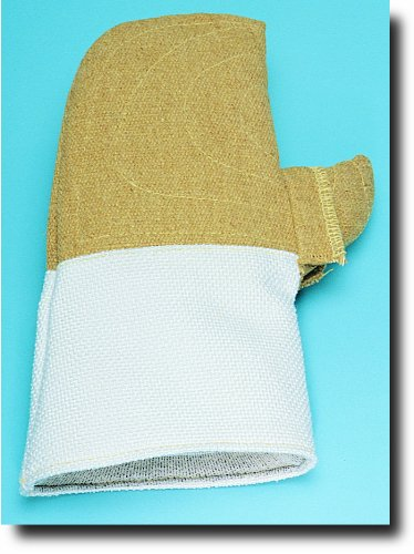 Steel Grip PB22 9738-14 B01W Reversible PBI/KEVLAR High Heat Mitt, 14-Inch by Steelgrip (Image #1)