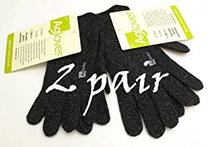 Agloves ® Original Touchscreen Gloves, iPhone Gloves, Texting Gloves 2 Pair (Small Medium)