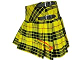 Scottish Traditional Macleod Of Lewis Women's Kilt - Short Skirt (38)