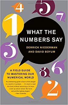 Book What the Numbers Say: A Field Guide to Mastering Our Numerical World