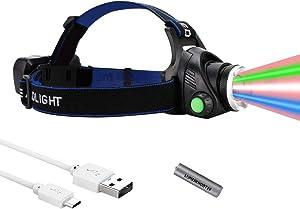 LUMENSHOOTER H14 Upgraded Multi-Color Hunting Headlamp