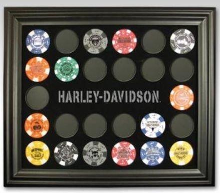 Harley-Davidson Poker Chip Collectors Frame 6927 from Harley-Davidson