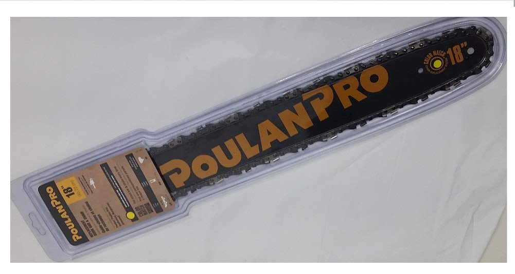 Poulan Pro Replacement 18'' Chainsaw Guide Bar & Chain Combo Kit 3/8'' .050'' 62 DL