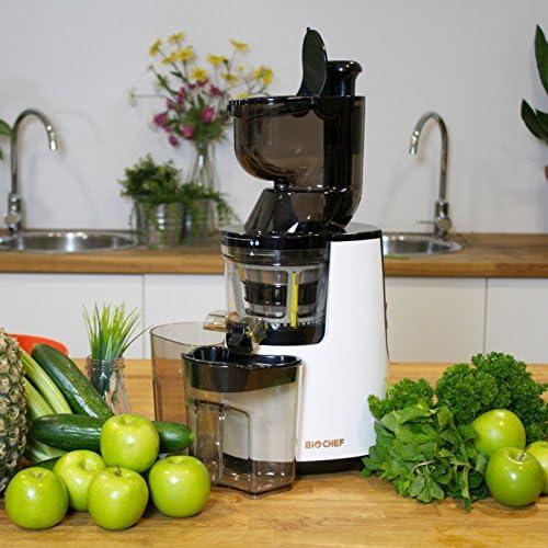 BioChef Atlas Whole Slow Juicer - Extractor de zumo, rotación ...
