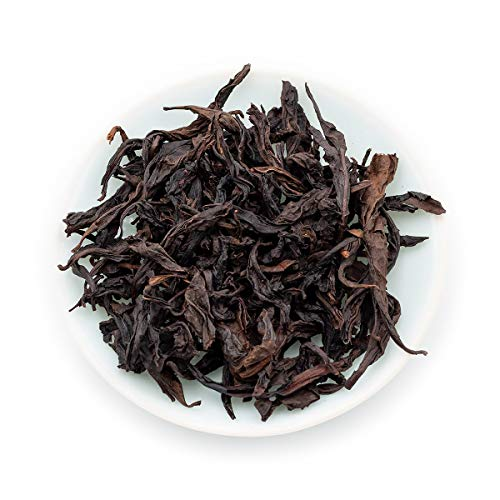 Oriarm 250g / 8.82oz Da Hong Pao Oolong Tea Loose Leaf - Fujian Wuyi Rock Tea Dahongpao Big Red Robe - Wulong Chinese Tea Leaves - Detox Relaxing Naturally - Tea Leaf Wulong