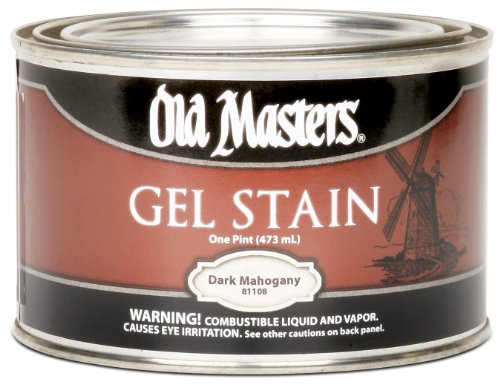 (One Piece ) Gel Stain- Gel Stn Dk Mahog Pt From Old Masters (Part Number 81108)