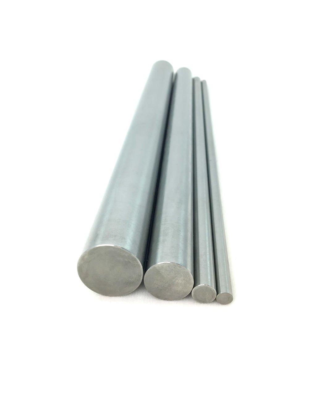 99.95% Pure Tungsten Rod - 0.25'' Diameter x 20'' Length by Midwest Tungsten Service