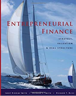 Entrepreneurial finance third edition finance and business entrepreneurial finance strategy valuation and deal structure fandeluxe Choice Image