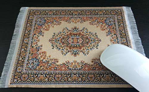 Computer Carpet Mouse Pad Oriental Style Rug Mouse Mat