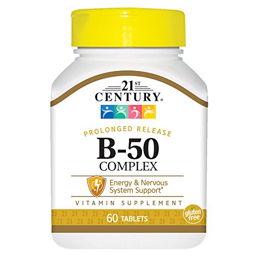 21st Century B-50 Complex Prolonged Release Tablets, 60-Count (Pack of 2)