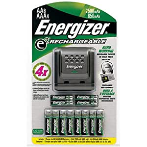 Amazon.com: Energizer Rechargeable Batteries and Charger