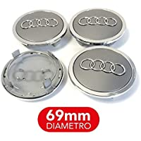 4 tapones tapacubos 69 mm A3 A4 A5