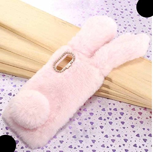 VivoV11 Pro Soft Villi Case, Very Light Slim Fluffy Rabbit Manual Wool Ear  Tail Style Warmer Winter Hand Cover, WEIFA Newest Super Luxury CellPhone
