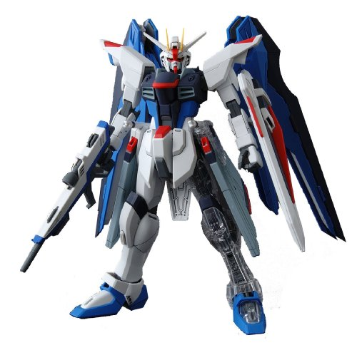 Gundam ZGMF-X10A Freedom Gundam with Extra Clear Body parts MG 1/100 Scale - Model Master Insignia Yellow
