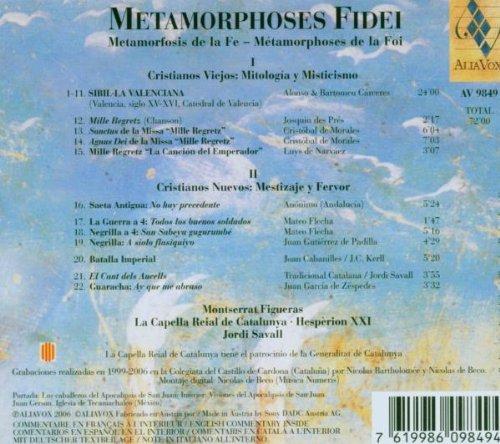 Metamorphoses of Faith
