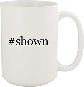 #shown - 15oz Hashtag White Ceramic Coffee Mug