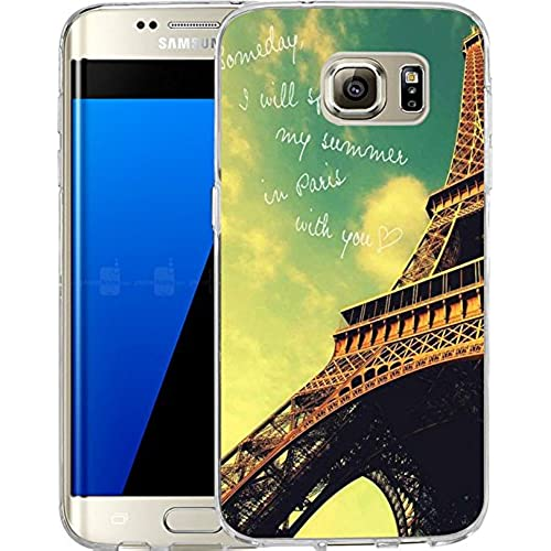 Galaxy S7 Edge Case Samsung Galaxy S7 Edge Case TPU Non-Slip High Definition Printing Alfie Tower new Sales