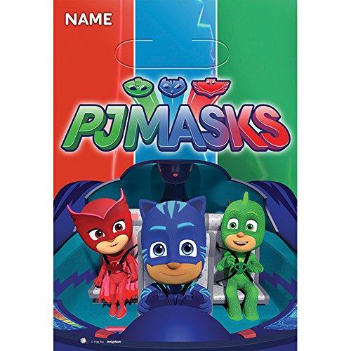 PJ Masks Loot Bags (8 ct)