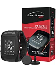 Shot Scope V2 Golf GPS Watch and Performance Tracker