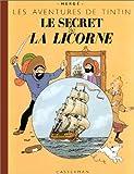 SECRET DE LA LICORNE  FAC SIMILÉ COULEUR