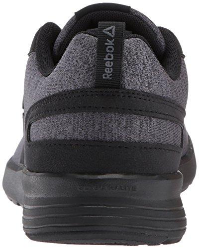 Reebok Women's Foster Flyer Track Shoe Hthr - Black/Dark Grey Heather/Ash Grey clearance Inexpensive sGNqZ5