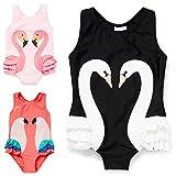 Taiycyxgan Baby Toddler Girls One-Piece Swan
