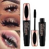 #8: SUNNYM 4D Makeup Eyelash Mascara Eye Lashes Makeup Silk Fiber Lash Mascara Black Thick Lengthening Eye Lashes