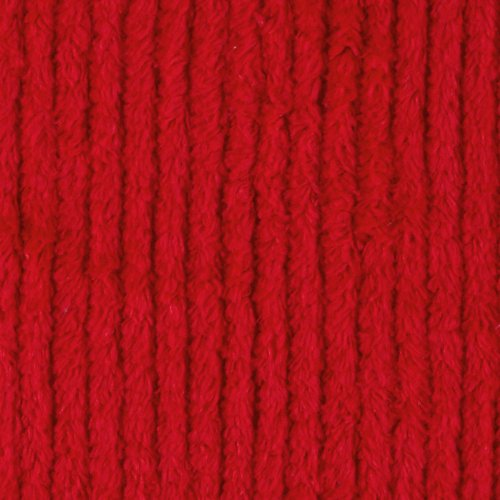 Richland Textiles FK-054 10 Ounce Chenille Red Fabric by the Yard (Chenelle Fabric)