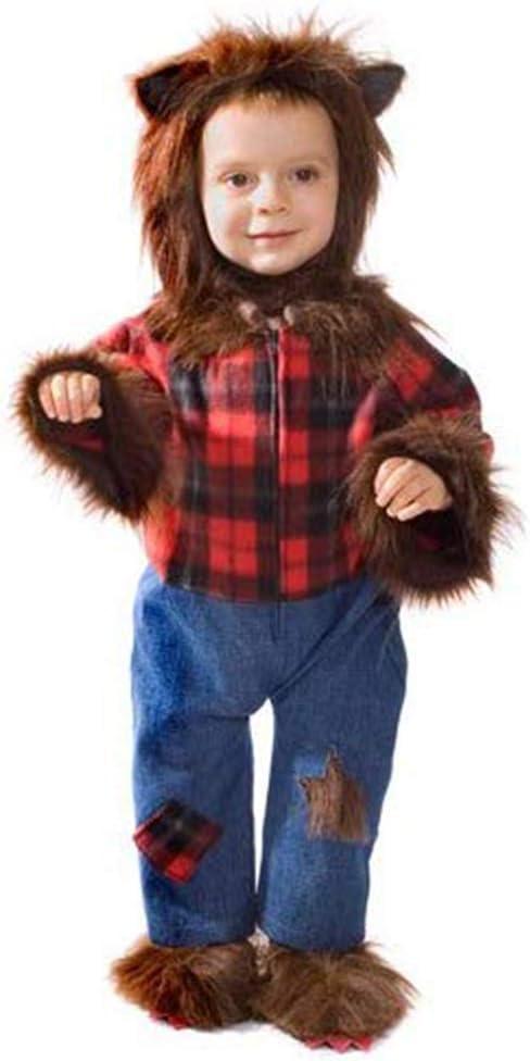 Dress Up America Disfraz de Cute bebé Hombre Lobo Hairy: Amazon.es ...