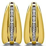 1/3 ct. Cubic Zirconia Chandelier Earring Jacket in Yellow Plated Sterling Silver (0.315 ct. twt.)