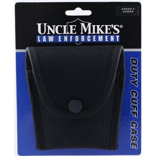 (Uncle Mike's Kodra Duty Nylon Web Compact Cuff Case, Black)